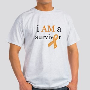 i AM a survivor (Orange) Light T-Shirt