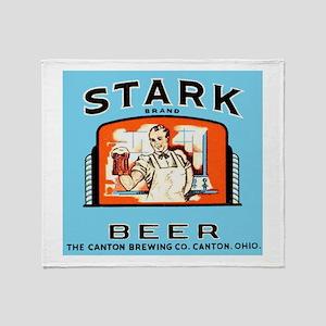 Ohio Beer Label 4 Throw Blanket