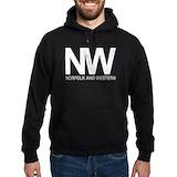 Norfolk western Dark Hoodies