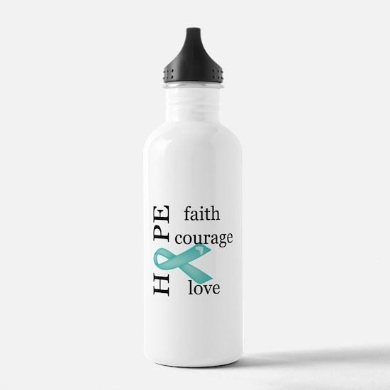Ovarian Cancer Sports Water Bottle