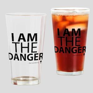 'I Am The Danger' Drinking Glass