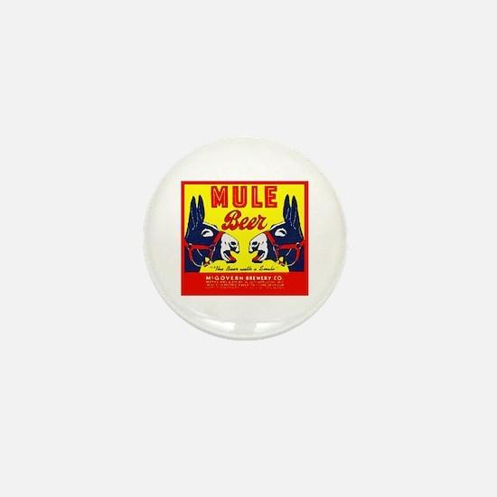 Missouri Beer Label 1 Mini Button