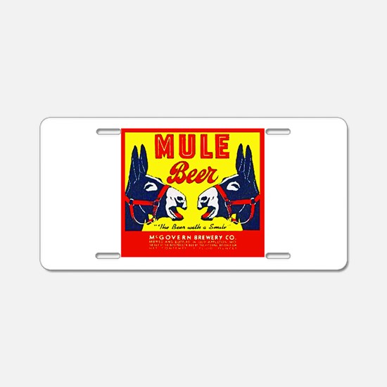 Missouri Beer Label 1 Aluminum License Plate