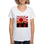 eirei Women's V-Neck T-Shirt