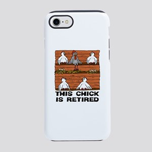 Retired Chick iPhone 7 Tough Case