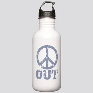 Peace Out Stainless Water Bottle 1.0L