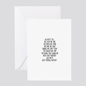 Best friends forever greeting cards cafepress best friends forever greeting cards m4hsunfo