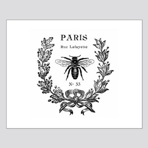 PARIS BEE Small Poster