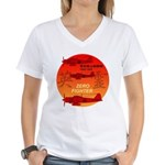 zerofighter Women's V-Neck T-Shirt