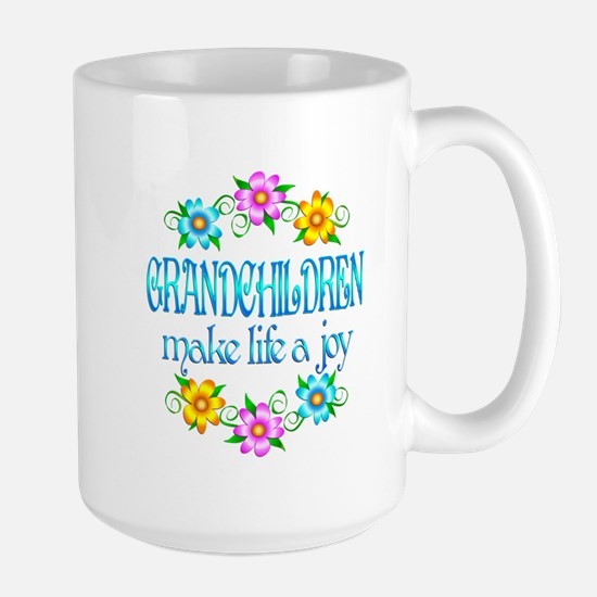 Grandchildren Joy Large Mug