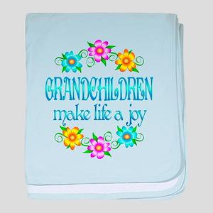 Grandchildren Joy baby blanket