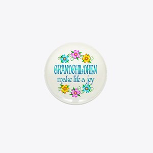 Grandchildren Joy Mini Button