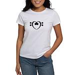 Bass Heart Women's T-Shirt