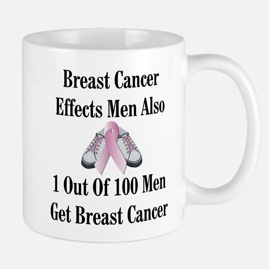 Male Breast Cancer Awareness Mug