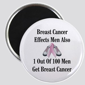 Male Breast Cancer Awareness Magnet