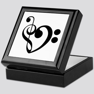 Musical Heart Keepsake Box