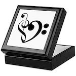 Musical Heart Keepsake Box