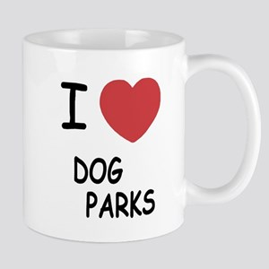I heart dog parks Mug