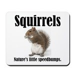 Squirrel Bumps Mousepad