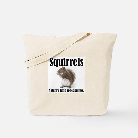 Squirrel Bumps Tote Bag