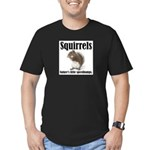 Squirrel Bumps Men's Fitted T-Shirt (dark)