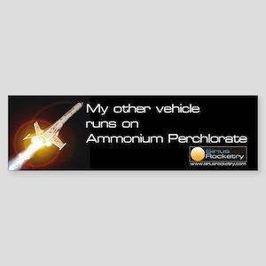 My other vehicle runs on AP Bumper Sticker