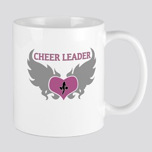 Cheer Leader Heart Mug
