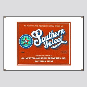 Texas Beer Label 1 Banner