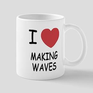 I heart making waves Mug