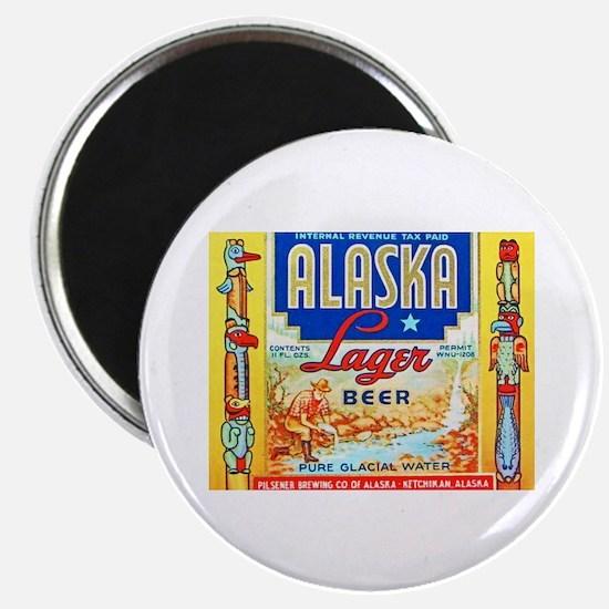 Alaska Beer Label 1 Magnet