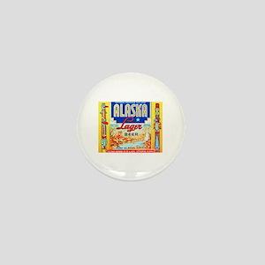 Alaska Beer Label 1 Mini Button