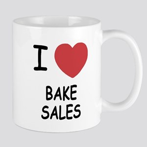 I heart bake sales Mug