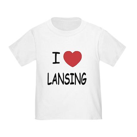 I heart lansing Toddler T-Shirt