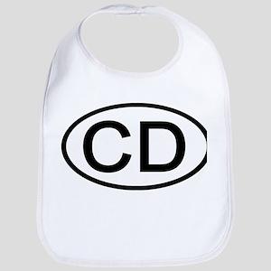 CD - Initial Oval Bib