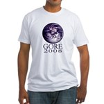 Earth Gore 2008 Fitted T-Shirt