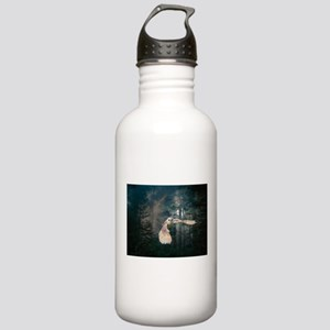 Owl at Midnight Stainless Water Bottle 1.0L