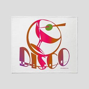 Disco Martini / Throw Blanket