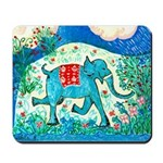 Blue Elephant Mousepad