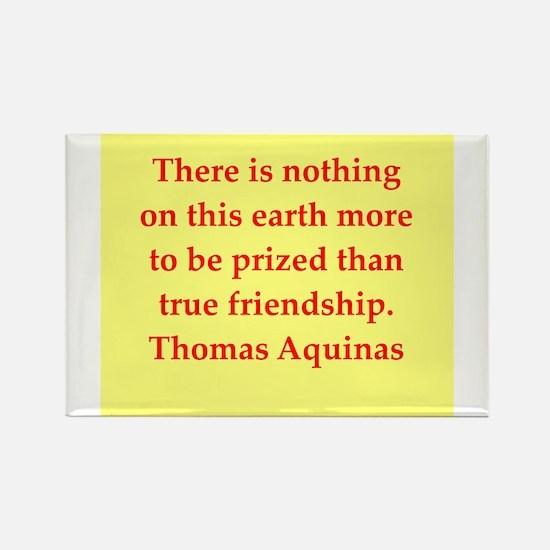 Saint Thomas Aquinas Rectangle Magnet
