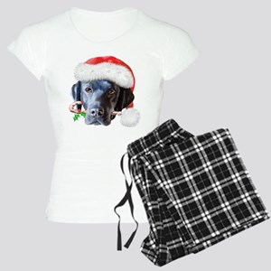 Black Lab Christmas Women's Light Pajamas
