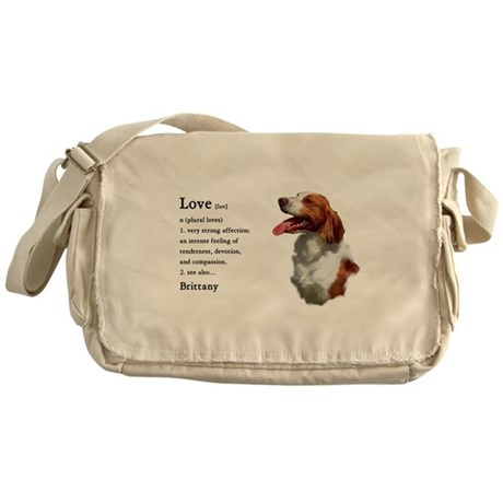 American Brittany Spaniel Messenger Bag
