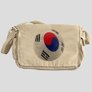 South Korea world cup soccer ball Messenger Bag