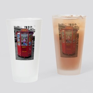 Boston Ticket Booth Drinking Glass