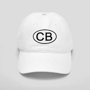 CB - Initial Oval Cap