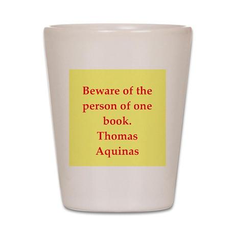 Saint Thomas Aquinas Shot Glass