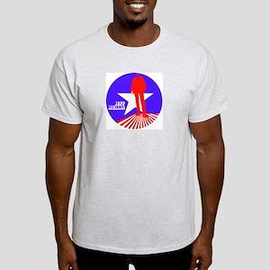 "Jeff Mellin ""America"" Ash Grey T-Shirt"