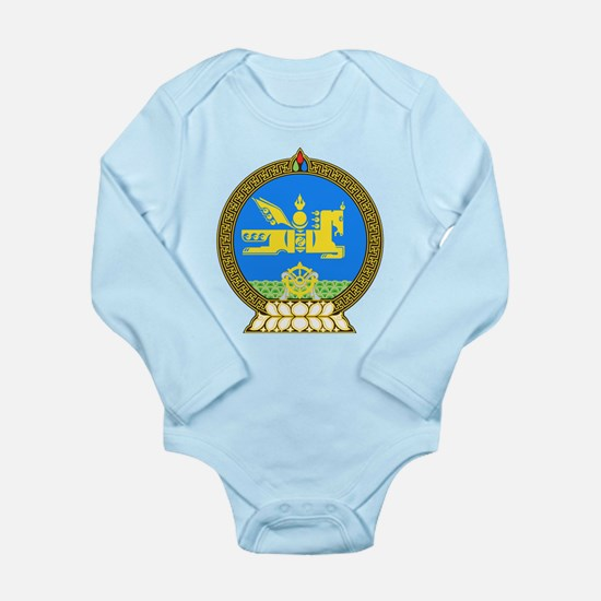 Mongolia Long Sleeve Infant Bodysuit
