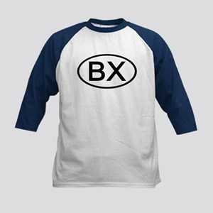 BX - Initial Oval Kids Baseball Jersey