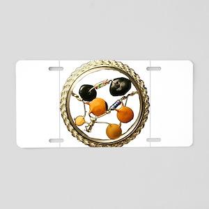Fibonacci Aluminum License Plate