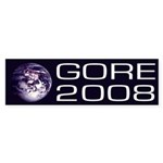 Earth Gore 2008 bumper sticker